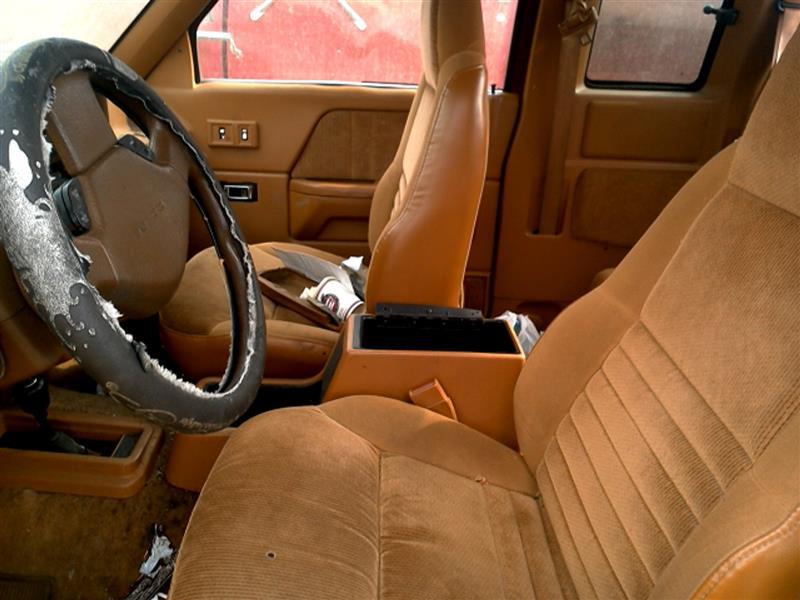 Driver Side Bottom Leather Seat Cover Khaki Tan 2005 2006 Dodge Durango SLT