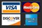 Visa/MC/Amex/Discover logos